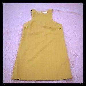 Women's mustard dress